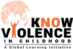 Know Violence in Childhood Logo